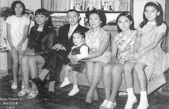1954 (5c) 1970 Fam Pedro Kcomt Sanchez