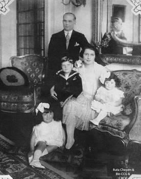 1927 Carlos Palacios Moreyra Villacampa y esposa A