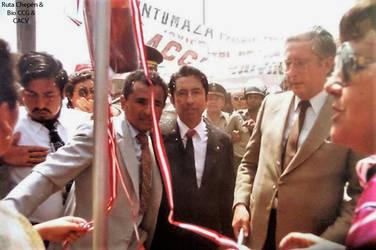 1984 (10c) 1984-09-15 Luis Alva Orlandini vino a C by Chepen-Ruta
