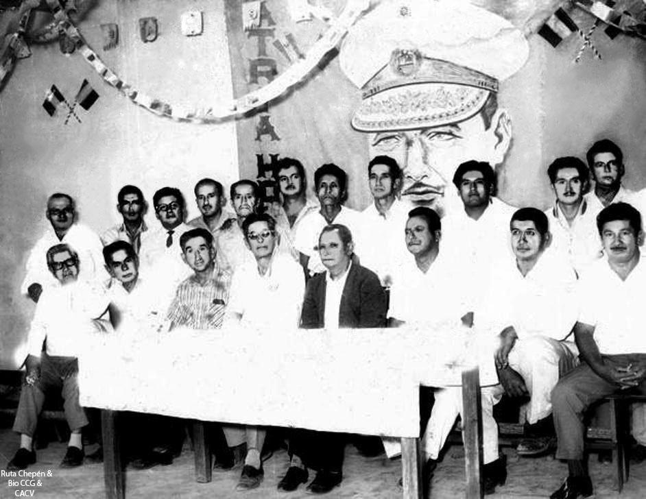 1950-60d Comuneros Carlos Fernandez Miguel Dieguez by Chepen-Ruta