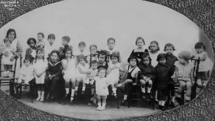 1929 Celebracion del cumpleaos de Carmela Norieg