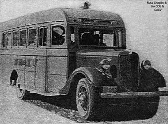 1930-40 Bus Chepen - San Jose by Chepen-Ruta