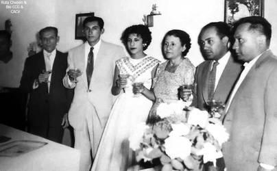 1956-63 Dr Cesar Carrillo Gil en reunion de amigos by Chepen-Ruta