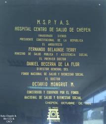 1966 Inauguracion  del Hospital Centro de Salud Ch by Chepen-Ruta