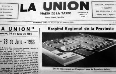 1966 Inauguracion del Hospital de Chepen el propxi by Chepen-Ruta