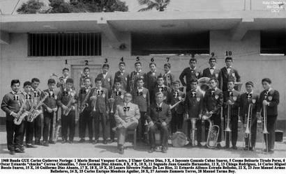1968 Banda de musicos de la GUE CGN Chepen by Chepen-Ruta