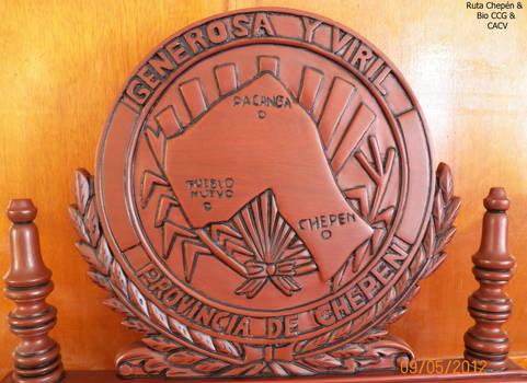 9a Municipio Provincial Logo en Sillon de la Alcal by Chepen-Ruta