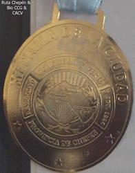 9e Medalla Civica de la Ciudad conferida a los hij by Chepen-Ruta