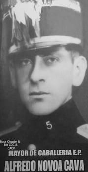 11c Alfredo Novoa Cava Heroe Guerra Peru Ecuador 1