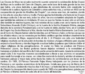 0a2 1933-81 (2) Las Cruces de Mayo celebracion en
