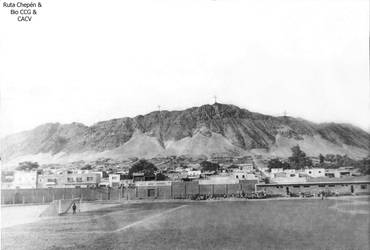 0c 1955 (13) 1955-60 El Estadio y el Cerro con sus