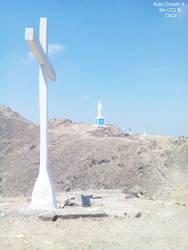 0f 1988 Cruz de Mayo al inaugurase la via crucis