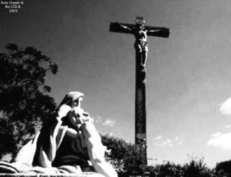 1 1966 Hortencia Ruiz de Alvarado visita al Via Cr