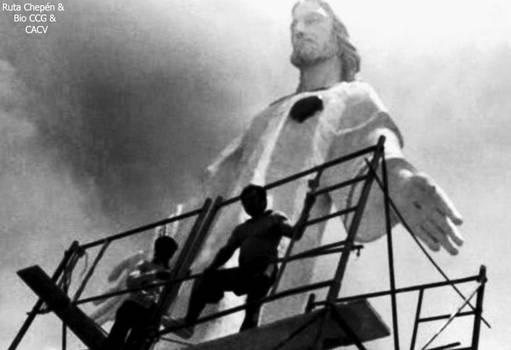 6 1987 Construccion del Cristo Redentor