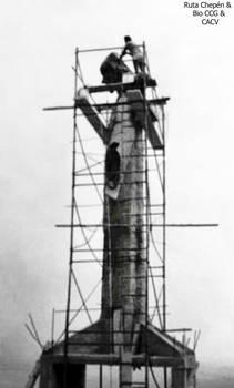 7 1987 Construccion del Cristo Redentor 12 m