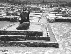 9 1987 Chepen Via Crucis del Cerro Chepen al inici