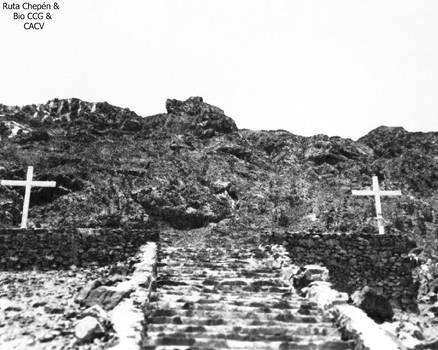 9a 1987 Chepen Via Crucis del Cerro Chepen sendero