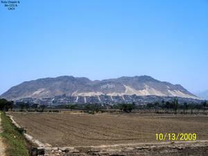 3b Cerro de Chepen vista frontal desde los cultivo
