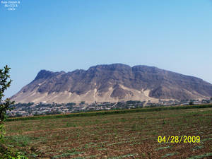 4 Cerro de Chepen vista lateral desde Talambo