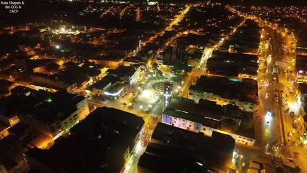 0d 2016 Panoramico de la Ciudad de Chepen Plaza de
