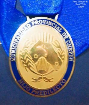 2018-11-11 Medalla de Chepen para el Hijo Predilec