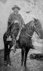 1885 Inmigrante italiano Egisto Antinori Bernardin