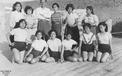 1951 Colegio Particular Mixto Chepen Rosa Paredes