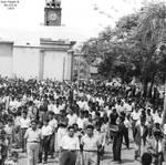 1955-1960 Manifestacion de Chepenanos que atravies