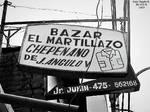 1970-80 Bazar el Martillazo Chepenano Bazar cuyo P