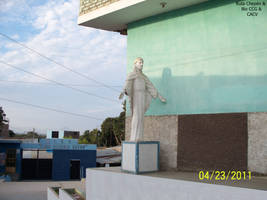 10 2011-04-22 Cristo Redentor al ingreso del ISP C by Chepen-Ruta