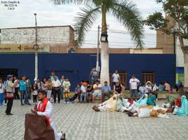 2014-04-19 (2) Escenificacion de la Crucificion en by Chepen-Ruta