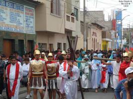 2014-04-19 (6) Escenificacion de la Crucificion en by Chepen-Ruta