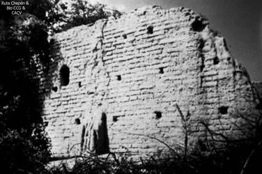 7b 1550 Ermita de Omnep Restos de la 1 Iglesia V