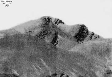0b1El Cerro del Inka Dormido ubicado antes de lleg