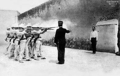 1888 (1) Fusilamiento en la Plaza de Armas de Truj