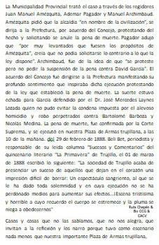 1888 (2) Fusilamiento en la Plaza de Armas de Truj
