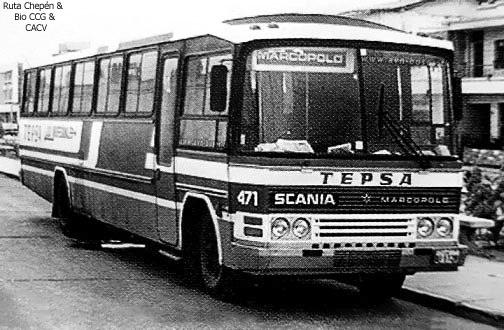 1950 (32a) 1970-80 Empresa TEPSA Marcopolo-III hac
