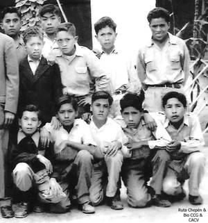 1950-60 Jovenes Chepenanos de la epoca
