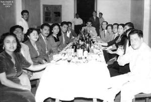 1950-60 Reunion celebracion antiguos de Chepenanos