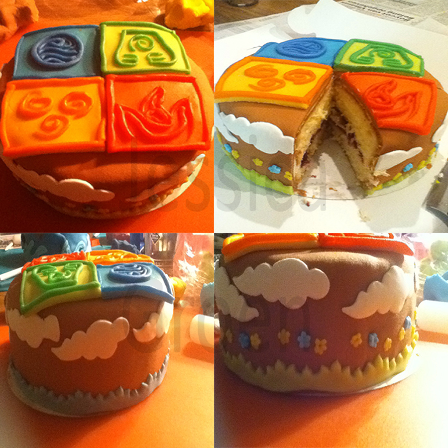 Element symbols pie by Jessica3green