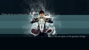 When we hit our lowest point... Korra