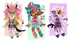 (OPEN) 2/3 Am I trippin'? ADOPTS!