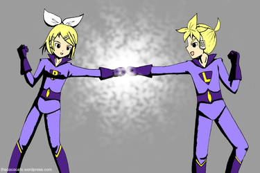 Kagamine Twin Power Activate by GIFH