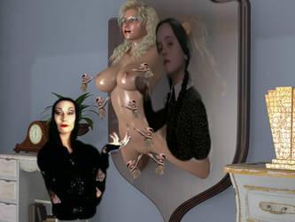 Addams Family prisoner by bondage97