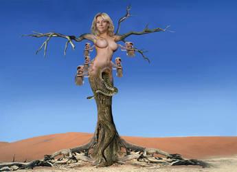 Ticklish Tree by bondage97