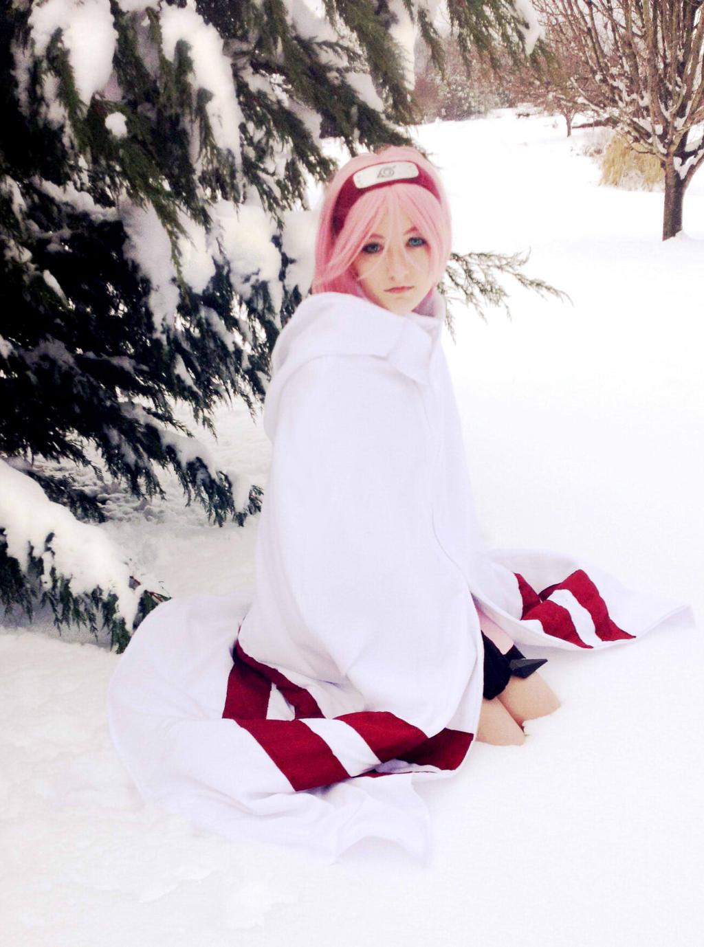 Sakura in winter 1 by JeiGoWAY