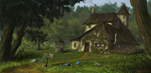 Witch's house by jameli