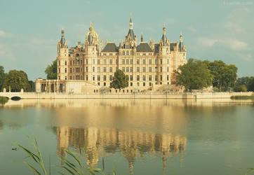 Schwerin Castle by ksushiks