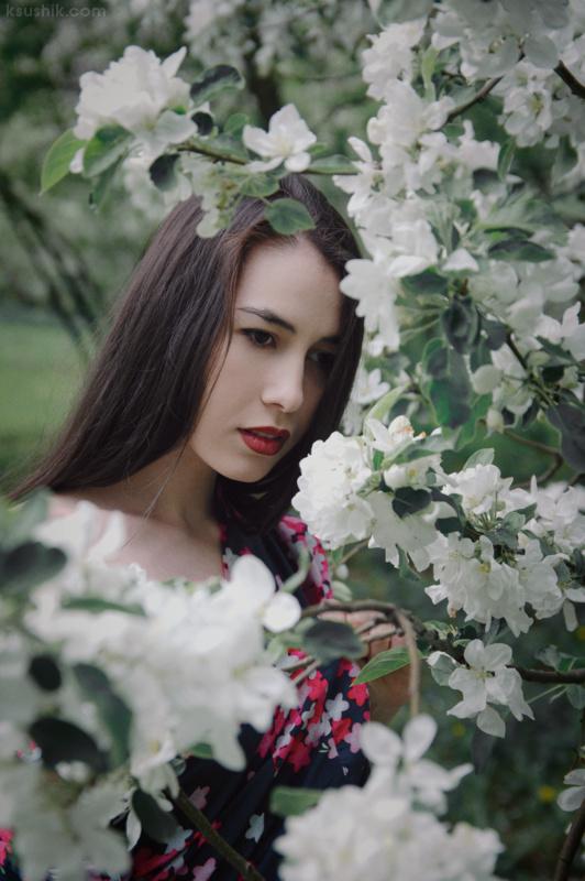 Frozen Blossom by ksushiks