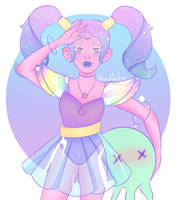 Space Magical Girl by SlowWaifu
